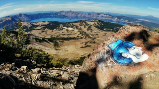 Terrible Human Defaces National Parks With Ugly Drawings