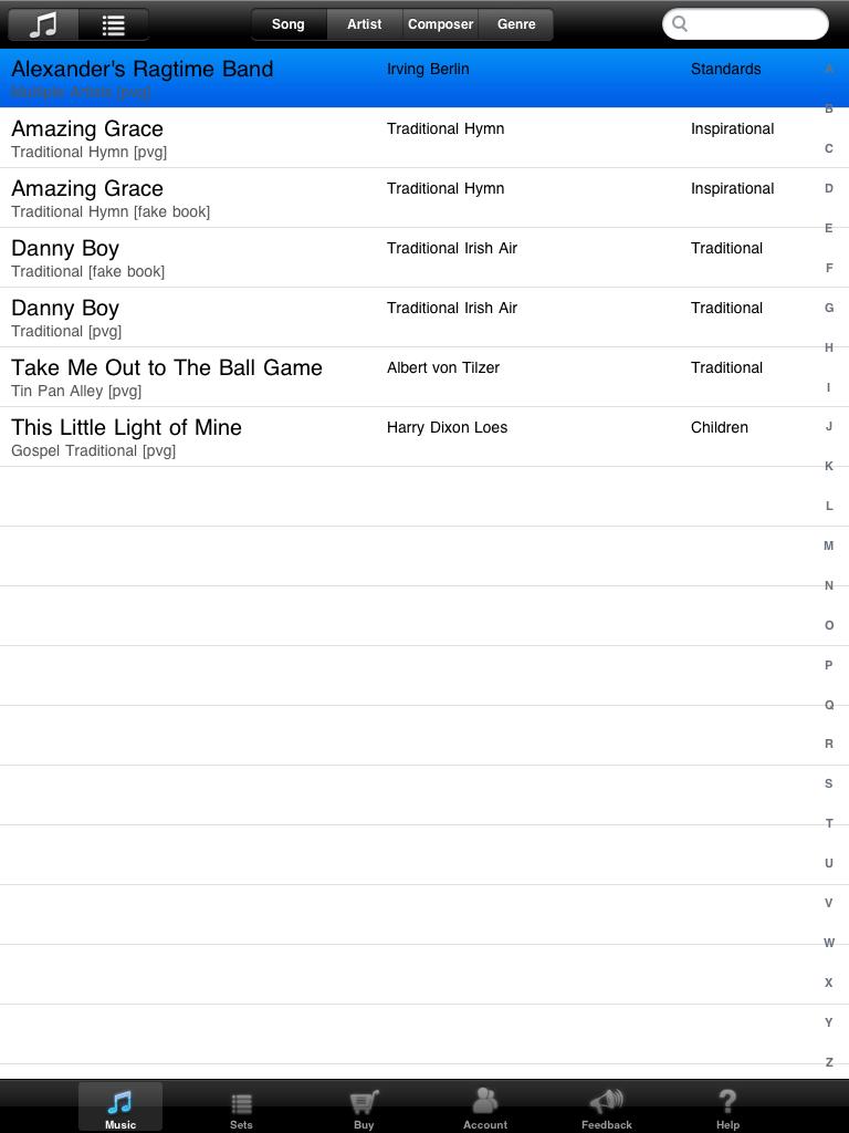 iSheetMusic App Gallery