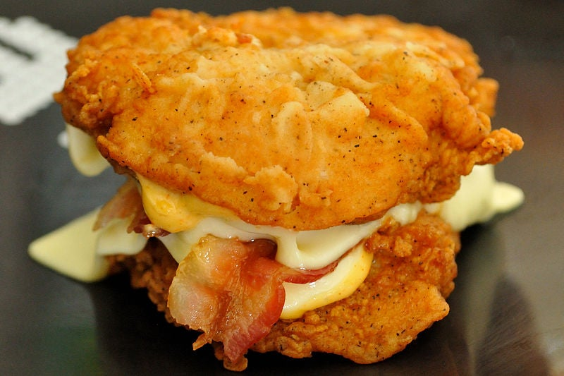The KFC Double Down is coming back