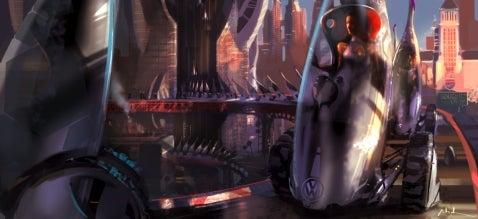 Design Challenge, Robocar 2057: Volkswagen Concept Slipsream