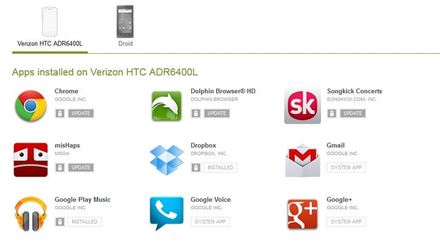 The Google Play Web Store Now Lets You Update and Uninstall Apps Remotely