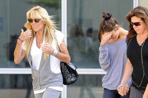 Dina and Ali Lohan's Super Special Visit to Jail