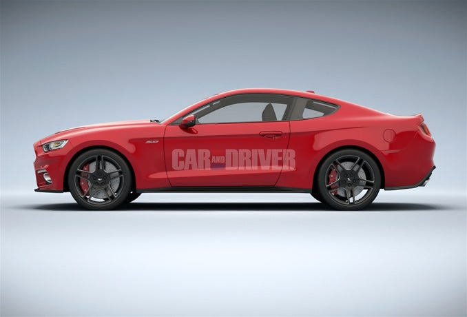 2015 Mustang and BMW X6 ///M are....