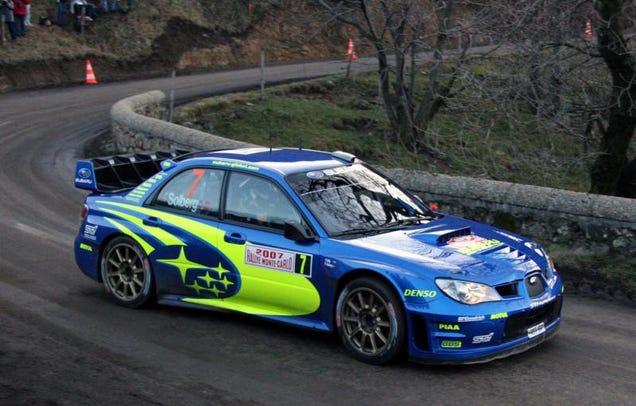Petter Solberg S 2007 Subaru Impreza Wrc