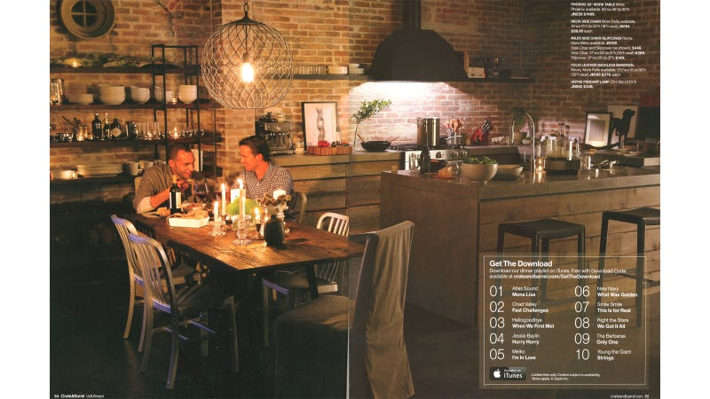 Didja See the Cute Interracial Gay Couple in the Crate & Barrel Catalog?