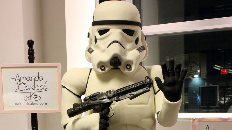 Six Foot Stormtrooper Cake Reveals the Empire's Latest Diabolical Weapon: Diabetes