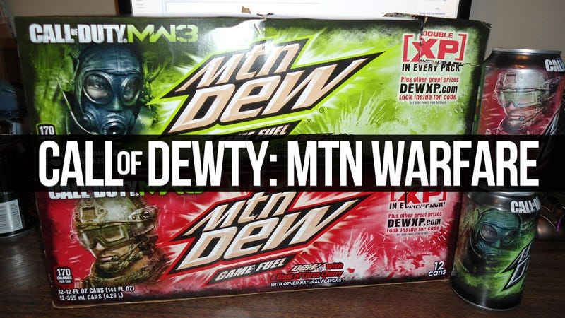 The Taste of Modern Warfare in a 12 Ounce Can