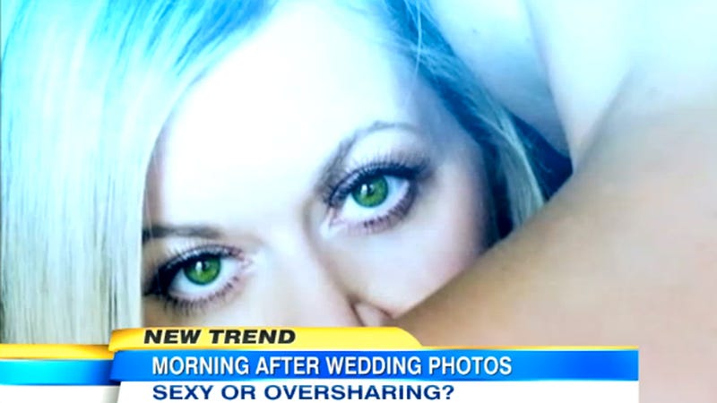 Thanks to Insufferable Newlyweds, Morning-After Wedding Photography Is Now a Thing