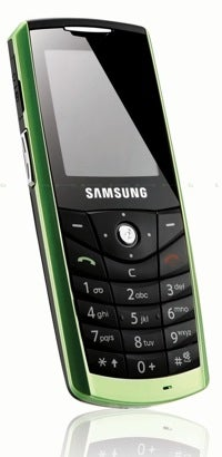 Green Samsung E200Eco Cellphone is Made With Bioplastic