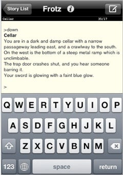 iPhone Apps We Like: Frotz, the Text Adventure, errr, Emulator