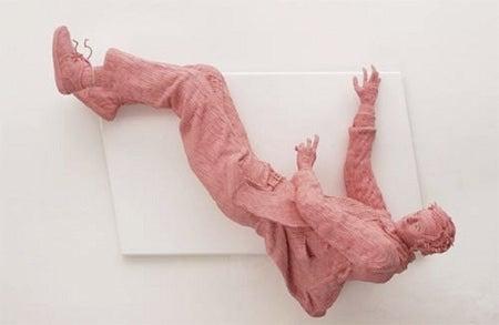 Crazy Pink Bubble Gum Art