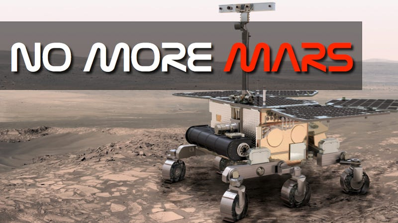 NASA is too poor to help Europe go to Mars