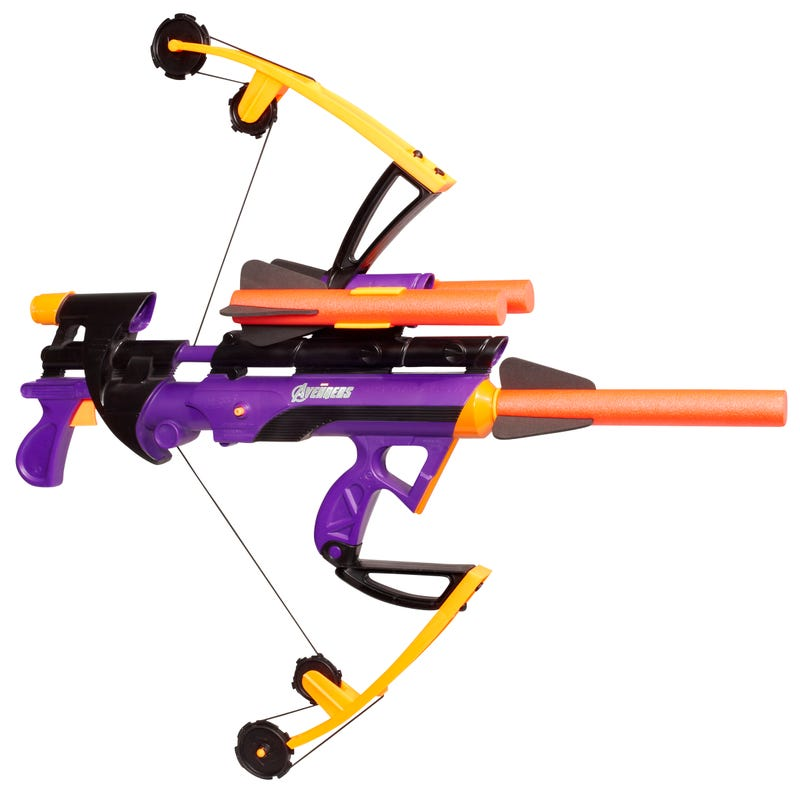 A Fresh Look at Hawkeye's Bow from The Avengers... in Nerf Form