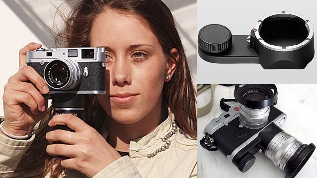 Leica's Lens Holder Also Doubles Up As a Stabilizer