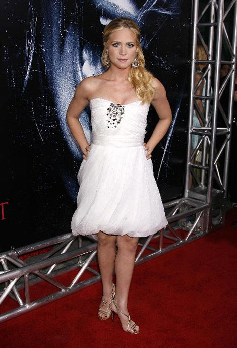 Brittany Snow's Dress Is White As You-Know-What