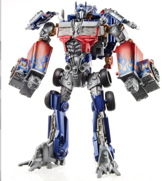 Is Transformers 3's Optimus Prime a giant robotic butterfly?
