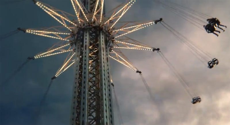 The World's Tallest Chair Swing Is Actually Quite Tall