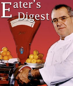 Eater's Digest: Tassa at San Domenico, Lunch With Dead Deer, Crab Head Custard