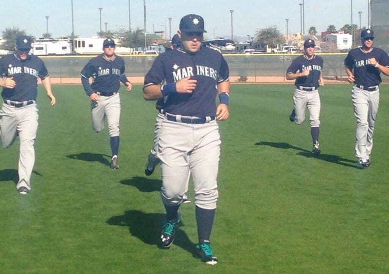 """Fat Jesus Montero On His Offseason: """"All I Did Was Eat"""""""