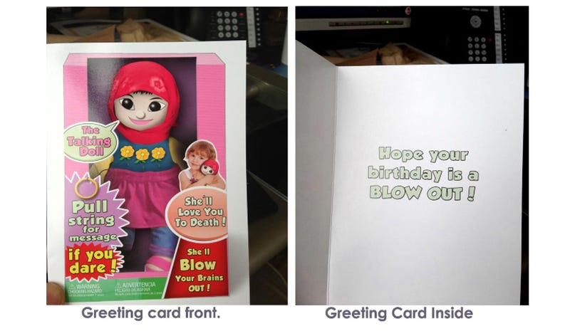 Here Is Your Tasteless Muslim Terror-Bomber Birthday Greeting Card