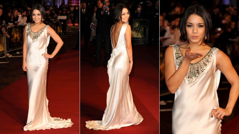 Damn, Vanessa Hudgens, That Is One Glam Gown