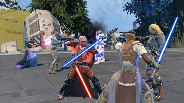 EA Says There's An 'Outside Possibility' Star Wars: The Old Republic Could Slip to 2012