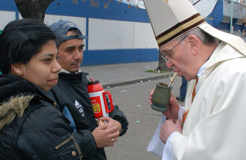 Pople Drank: What's Up With Pope Francis and His Pipe Thing?