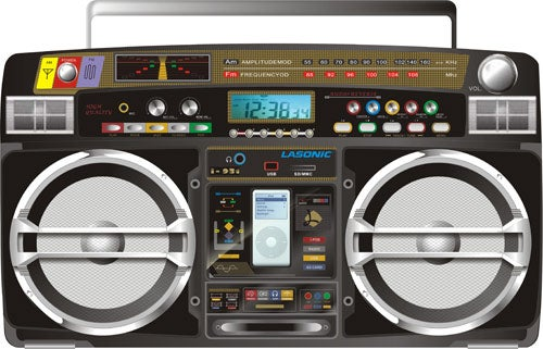 Lasonic Ghetto Blaster Returns With iPod Dock, Probably Is the Best Boombox Ever