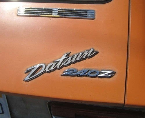 1970 Datsun 240Z Down On The Alameda Street
