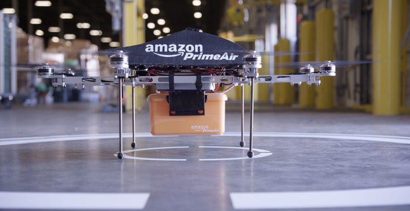 Amazon Wants To Deliver Stuff To You In Under 30 Minutes Using Drones