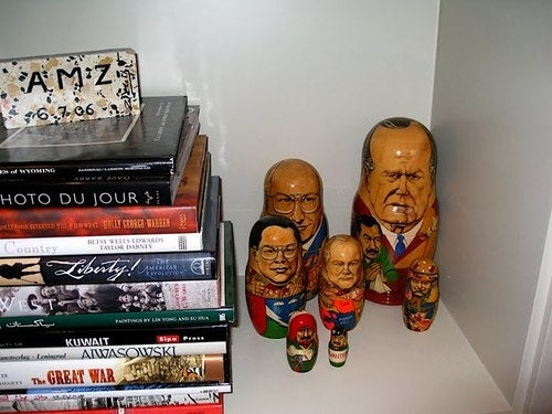 This Is What's On Dick Cheney's Bookshelf