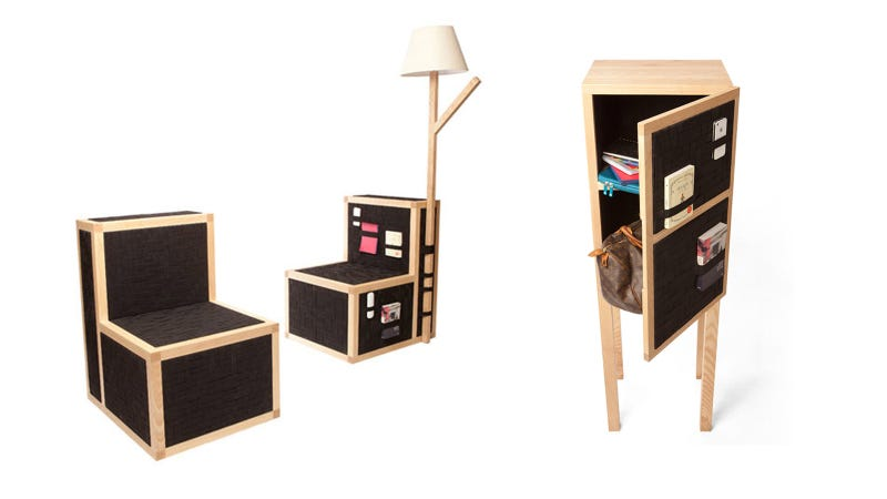 This Banded Furniture Has a Place for All Your Keys—And Then Some