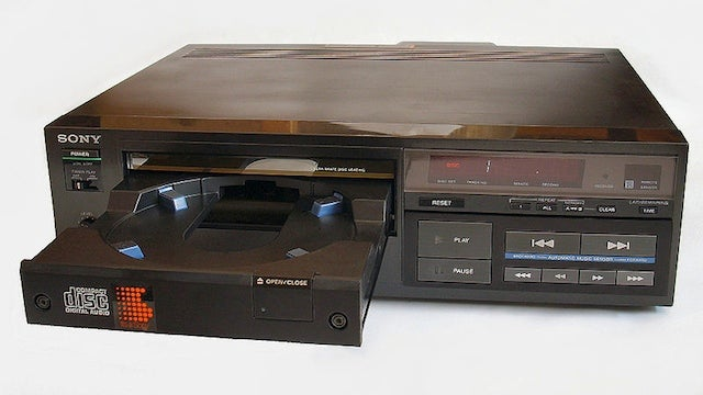 Sony CDP-101: The World's First CD Player