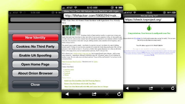 Onion Browser Is an Encrypted Mobile Browser for iOS
