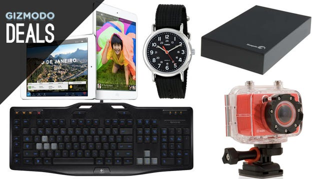 Deals: Cheaper iPad Minis, Budget Action Cam, Bluetooth Headphones