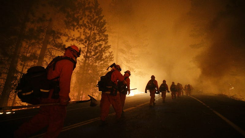 How Big Data Is Helping Snuff Out California's Wildfire Epidemic