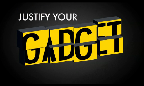 Video: Justify Your Gadgets, Sharper Image