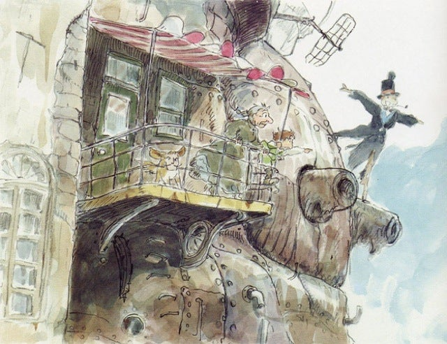 The Art and the Beauty of Studio Ghibli