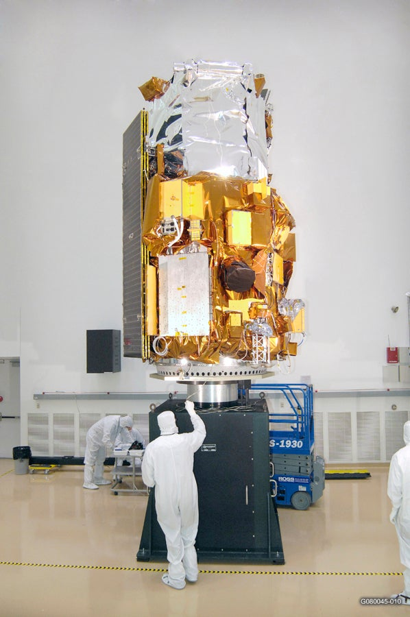 Google Military-Controlled Satellite Reaches Orbit, We Don't Feel Lucky