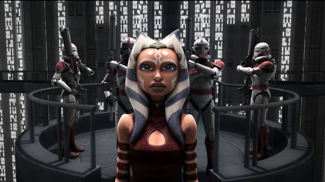 The fate of Ahsoka is revealed on the season finale of Clone Wars