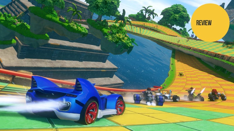 Sonic & All-Stars Racing Transformed: The Kotaku Review