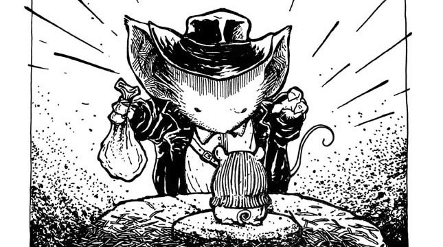 Indiana Jones, Watchmen, and more reenacted by Mouse Guard's adorable mice
