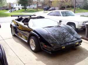 Backyard Lambo Of The Day: The Missouri Olds Toronado-fied Countach