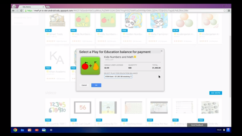 Google Play for Education: You Know, For Kids