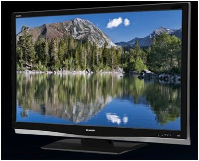 Contest: Win a 37-Inch Sharp Aquos TV