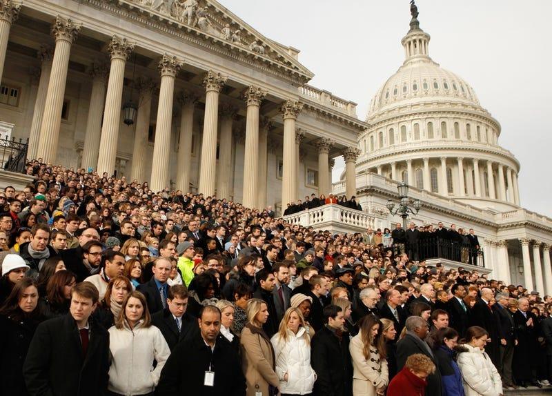 Capitol Hill Masses Honor Tucson Victims