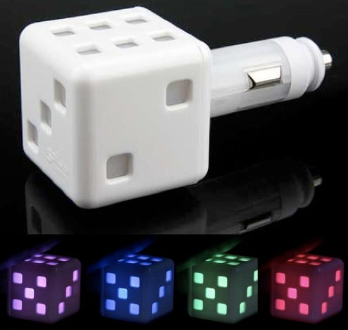 Car Dice Toys Go All-Glowing, Abandon Dangliness, Fluffiness