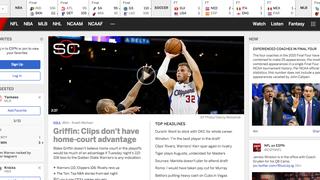 Whoa, New ESPN.com