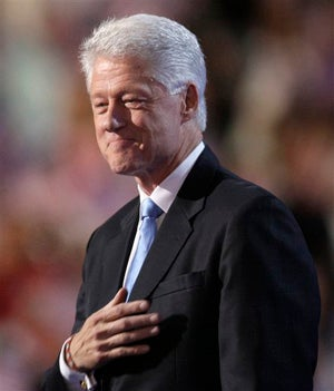 Liveblogging Bill Clinton's Convention Speech