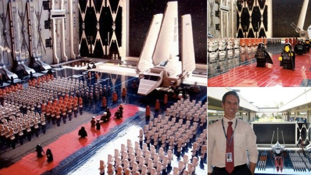 Look at This Incredible $2,300, 30,000 Brick Lego Imperial Hangar